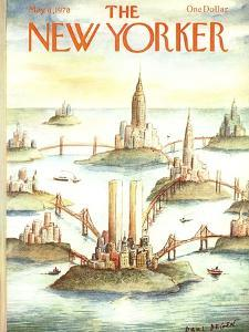The New Yorker Cover - May 8, 1978 by Paul Degen