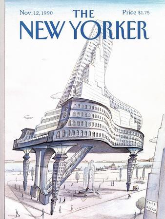 The New Yorker Cover - November 12, 1990