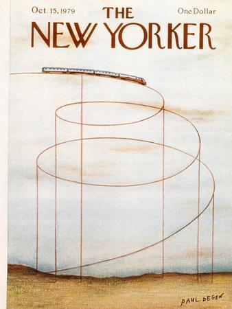 The New Yorker Cover - October 15, 1979