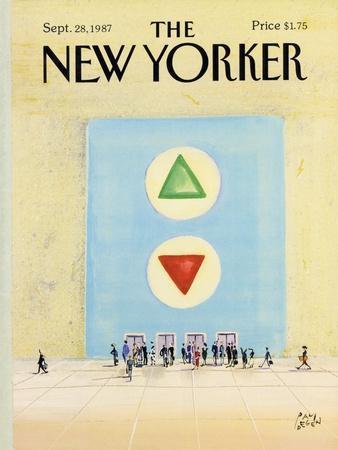 The New Yorker Cover - September 28, 1987