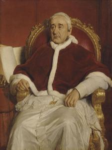Grégoire XVI (1765-1846), pape by Paul Delaroche