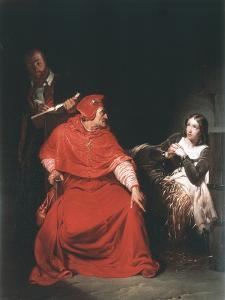 Joan of Arc in Prison, 1825 by Paul Delaroche