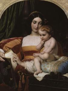 L'Enfance de Pic de La Mirandole by Paul Delaroche