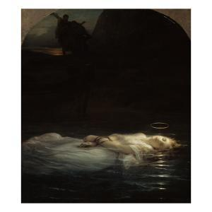 La jeune martyre by Paul Delaroche