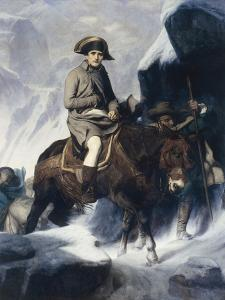 Napoleon Crossing the Alps by Paul Delaroche