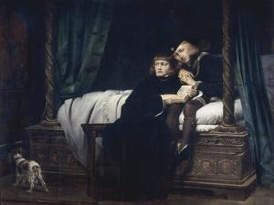 The Princes in the Tower by Paul Delaroche