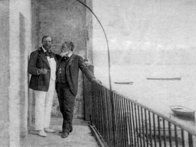 Paul Deroulede, French Author and Politician and Jean Mounet-Sully, French Actor, 1899--Giclee Print
