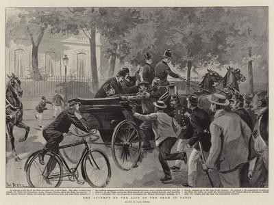The Attempt on the Life of the Shah in Paris