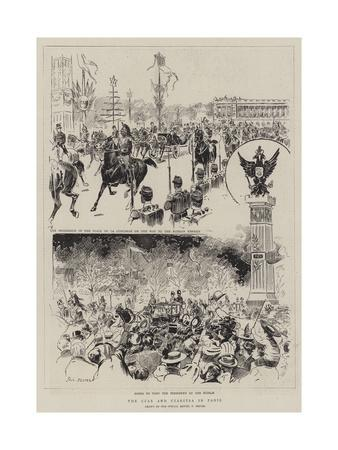 The Czar and Czaritsa in Paris