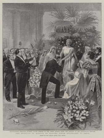 The Festival in Honour of Madame Sarah Bernhardt in Paris