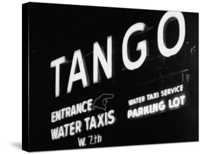 Neon Sign RegardingGambling Ship SS Tango