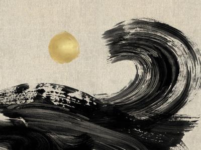 Painterly Waves - Ebb