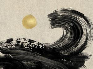 Painterly Waves - Ebb by Paul Duncan