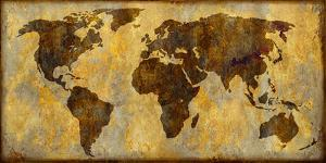 World Map by Paul Duncan
