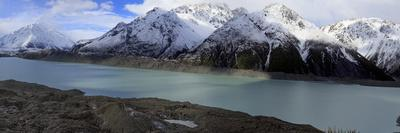 Mueller Glacier at the Head of the Kea Point Track, Mt. Cook National Park, New Zealand