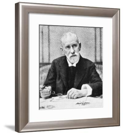 Paul Ehrlich, German Immunologist-Science Photo Library-Framed Giclee Print