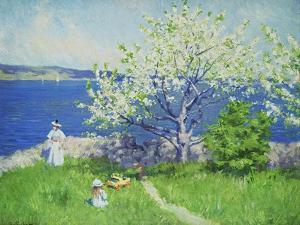 A Fjord Near Oslo, Summer 1892 by Paul Fischer