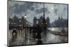 Copenhagen by Night by Paul Fischer