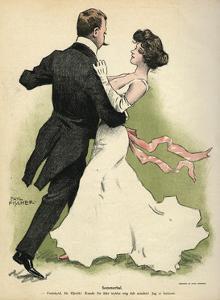Danish Couple 1902 by Paul Fischer