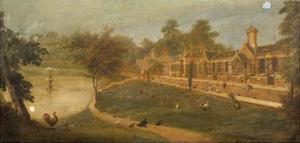 Queen Victoria's Aviary, C.1852 by Paul Fischer