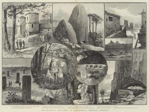 Antiquarian Sketches in Guatemala, Central America by Paul Frenzeny