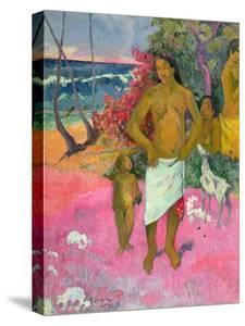 A Walk by the Sea, 1902 by Paul Gauguin