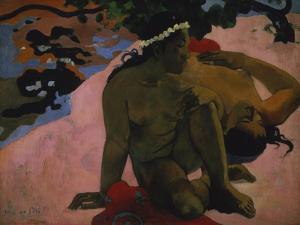 Aha Oe Feii? (Are You Jealous?) 1892 by Paul Gauguin