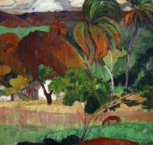 Apatarao (District of Papeete, Capital of Tahiti), 1893 by Paul Gauguin
