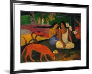 Arearea Or Jokes, 1892 by Paul Gauguin
