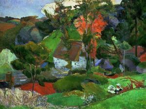 Aven Running Through Pont-aven, 1888 by Paul Gauguin