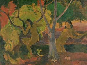 Bathers at Tahiti, 1897 by Paul Gauguin