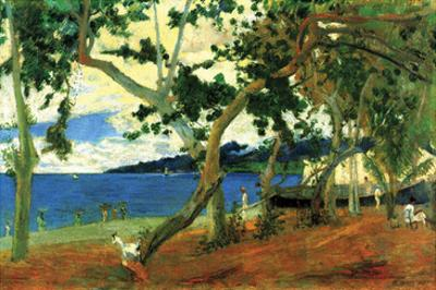 Beach Scene 2 by Paul Gauguin