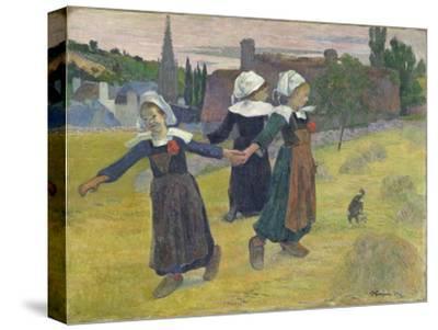 Breton Girls Dancing, Pont-Aven, 1888