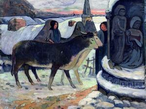 Christmas Night, C.1902-3 by Paul Gauguin