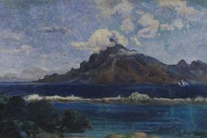 Coastal Martinique Landscape, 1887 by Paul Gauguin