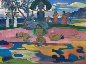 Day of the God (Mahana no Atua), 1894 by Paul Gauguin