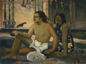 Eiaha Ohipa (Not Working), 1896 by Paul Gauguin