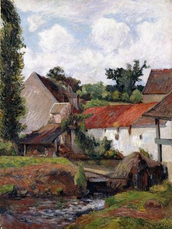 Farm at Osny, 1883