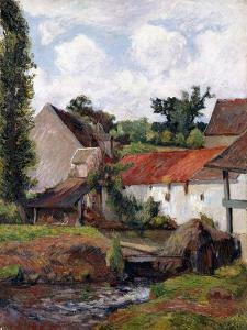 Farm at Osny, 1883 by Paul Gauguin