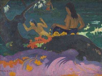 Fatata Te Miti (By the Sea), 1892