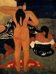 Gauguin: Bathers, 19Th C by Paul Gauguin