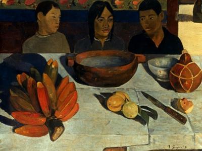 Gauguin: Meal, 1891 by Paul Gauguin