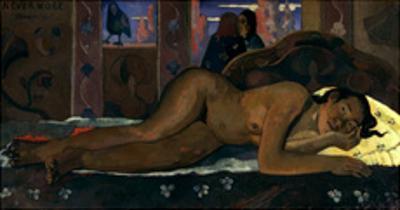 Gauguin: Nevermore, 1897 by Paul Gauguin