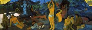 Gauguin: Painting, 1897 by Paul Gauguin