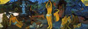 Gauguin: Painting, 1897 by Paul Gauguin