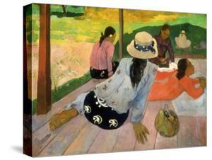 Gauguin: Siesta, 1891 by Paul Gauguin