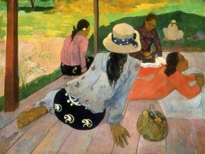 Gauguin: Siesta, 1891 by Paul Gauguin