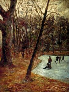 Gauguin: Skaters, 1884-85 by Paul Gauguin