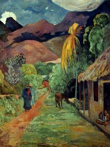 Gauguin: Tahiti, 19Th C by Paul Gauguin