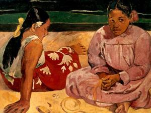 Gauguin: Tahiti Women, 1891 by Paul Gauguin
